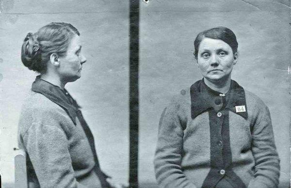 Każdy kraj ma seryjnych morderców. Nie oznacza to jednak, że przez pryzmat pojedynczych psychopatów można oceniać ogólny stan przestępczości w danym państwie. Na zdjęciu Hilda Nilsson uważana za jedną z najsłynniejszych szwedzkich seryjnych morderczyń kobiet.