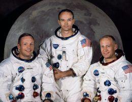 Amerykańscy astronauci (fot. NASA, domena publiczna)