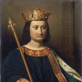 Filip IV Piękny (fot. domena publiczna)