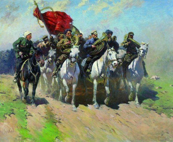 W niektórych momentach bitwy 1 Armia Konna była o krok od zwycięstwa.