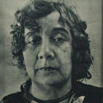 Handlarka żywym towarem na fotografii Tajnego Detektywa. 1934 rok.