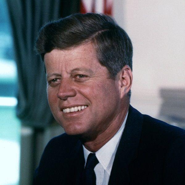 John F. Kennedy (fot. domena publiczna)