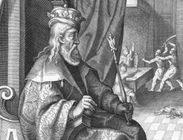 Król Karol Robert, twórca potęgi węgierskich Andegawenów, na XVIII-wiecznej podobiźnie.