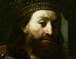 Książę Wacław, nazywany Wacławem Świętym, na malowidle z XVII wieku