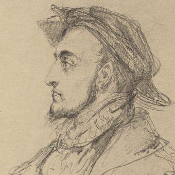 Młody Zygmunt August w wyobrażeniu Jana Matejki.