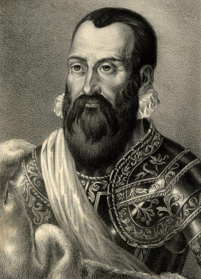 Mikołaj Radziwiłł Czarny według XIX-wiecznej litografii
