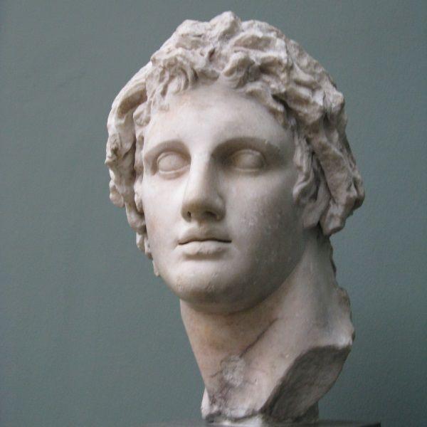 Popiersie Aleksandra Wielkiego (fot. Yair Haklai, lic. CCA SA 3.0 U)