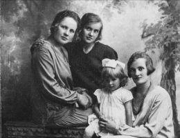 Rodzina Janiny Wójcik, jednak z bohaterek książki Anny Herbich (fot. materiały prasowe wydawnictwa Znak Horyzont)