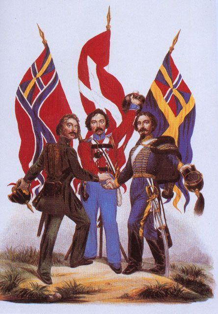 Napływająca fala imigrantów to problem dotykający dziś wszystkie kraje. W skandynawskich kryminałach jednak bardzo często przedstawiani są oni jako źródło przestępczości. Na ilustracji skandynawski plakat propagandowy.