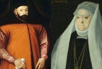 Stefan Batory i Anna Jagiellonka na portretach wykonanych za życia