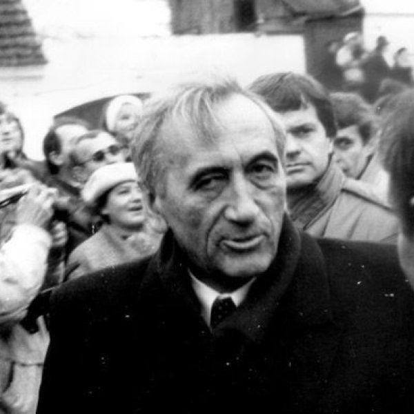 Tadeusz Mazowiecki (fot. Artur Klose, lic. CCA SA 2.0 G)