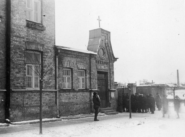 Zabudowania szpitala św. Jakuba w Wilnie