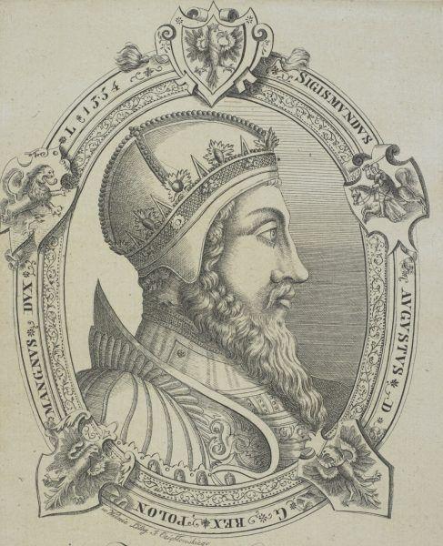 Zygmunt August na litografii z początku XIX wieku