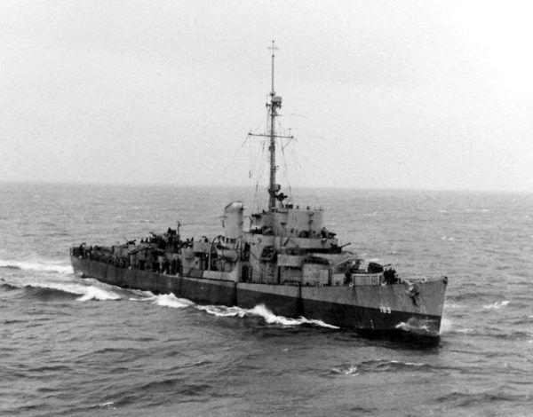 """Polskie złoto płynęło do Ameryki między innymi na pokładzie niszczyciela USS """"Bronstein""""."""