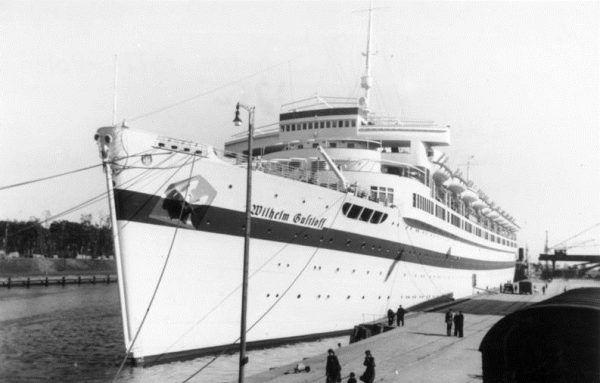 """MS """"Wilhelm Gustloff"""" z początku był statkiem pasażerskim."""