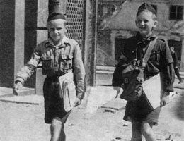 Harcerska poczta polowa z okresu powstania (fot. domena publiczna)