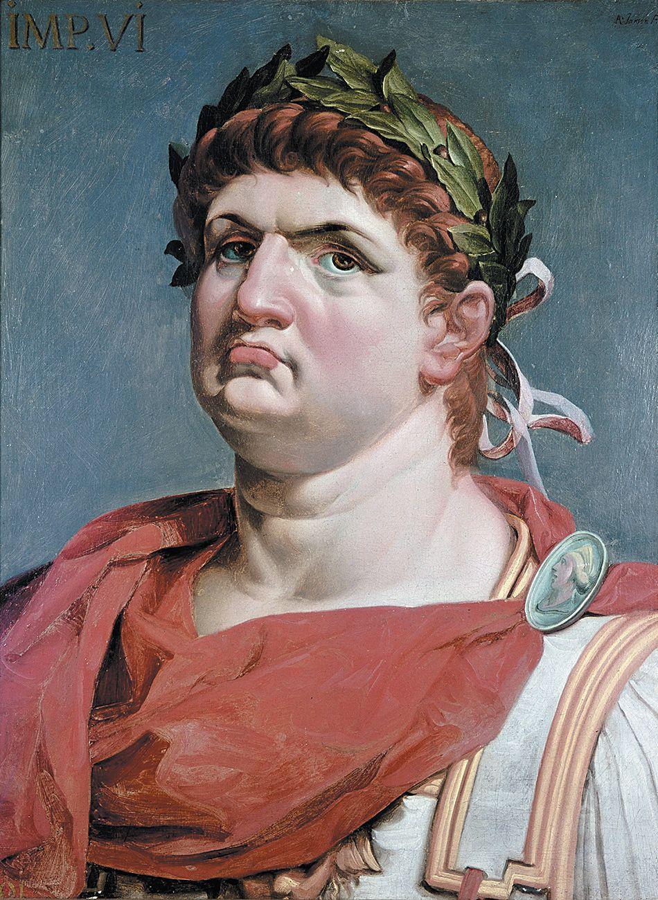Agrypina miała otruć męża, aby osadzić na tronie swojego syna Nerona. Na ilustracji portret cesarza pędzla Abrahama Janssensa.