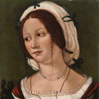Nie zachował się żaden obraz przedstawiający Katarzynę Telniczankę. Na ilustracji portret anonimowej kobiety z około 1510 roku.