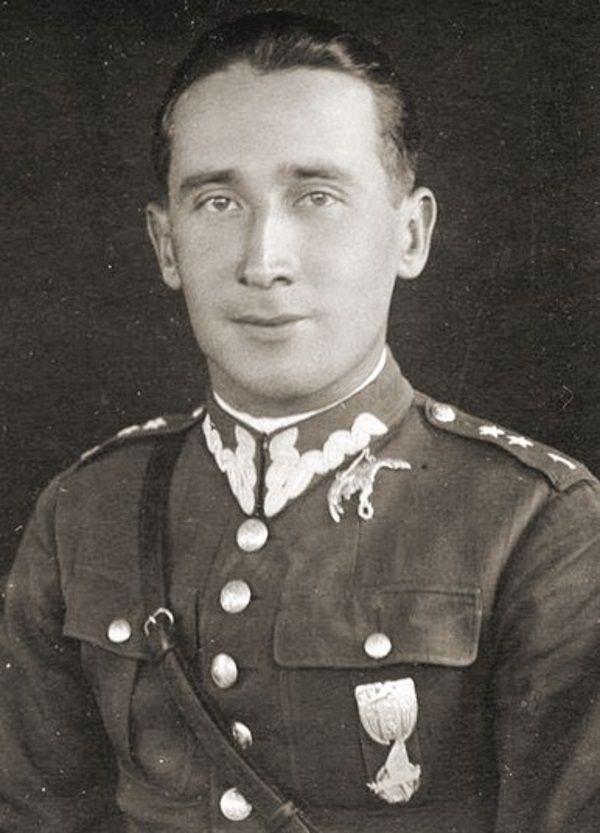 Roman Czerniawski, który zwerbował Mathilde (fot. CAW, domena publiczna)