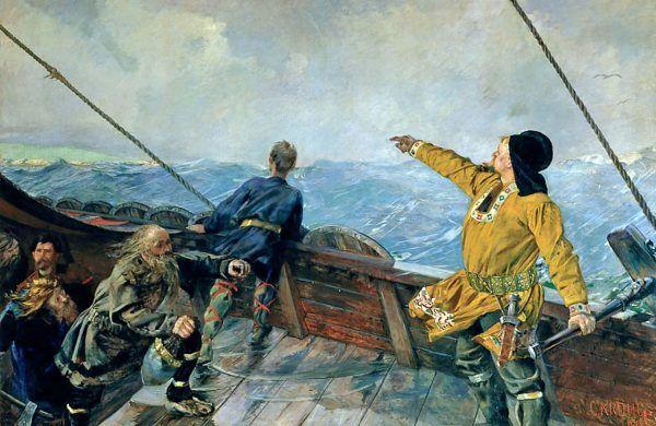 Leif Eriksson jest jednym z najmocniejszych kandydatów do miana odkrywcy Ameryki.