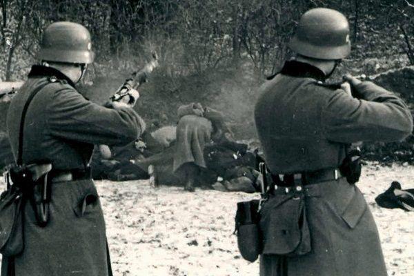 Egzekucja na Polakach w Bochni nieopodal Krakowa miała miejsce 18 grudnia 1939 roku.