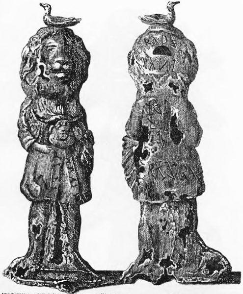 Idole Prillwickie na rysunku z końca XIX wieku