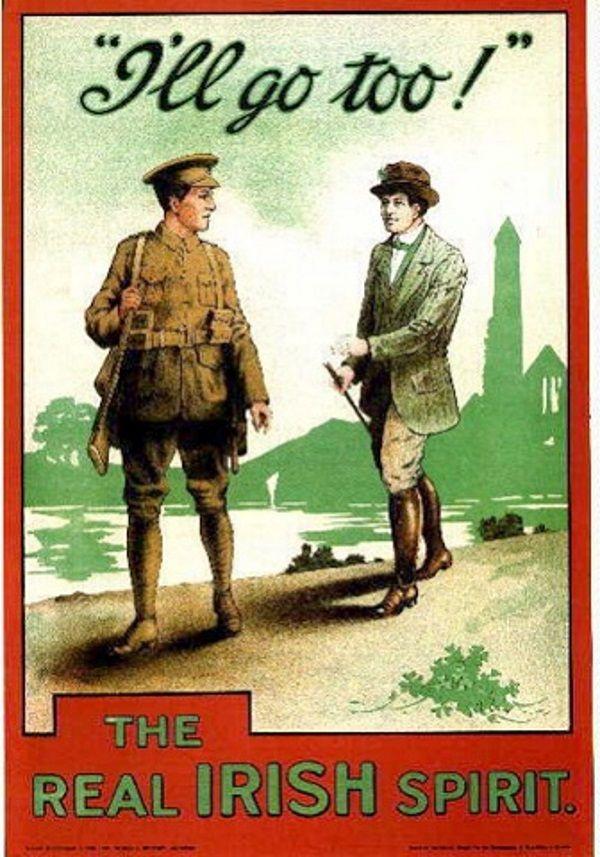 Plakat propagandowy (fot. domena publiczna)