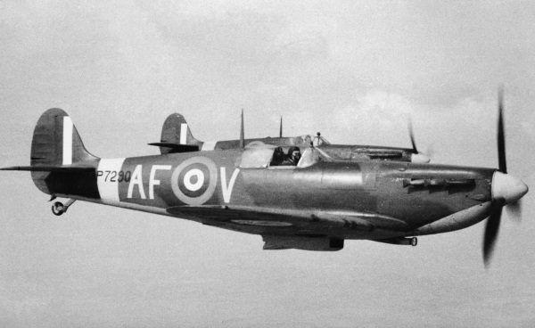 Spitfire (fot. domena publiczna)