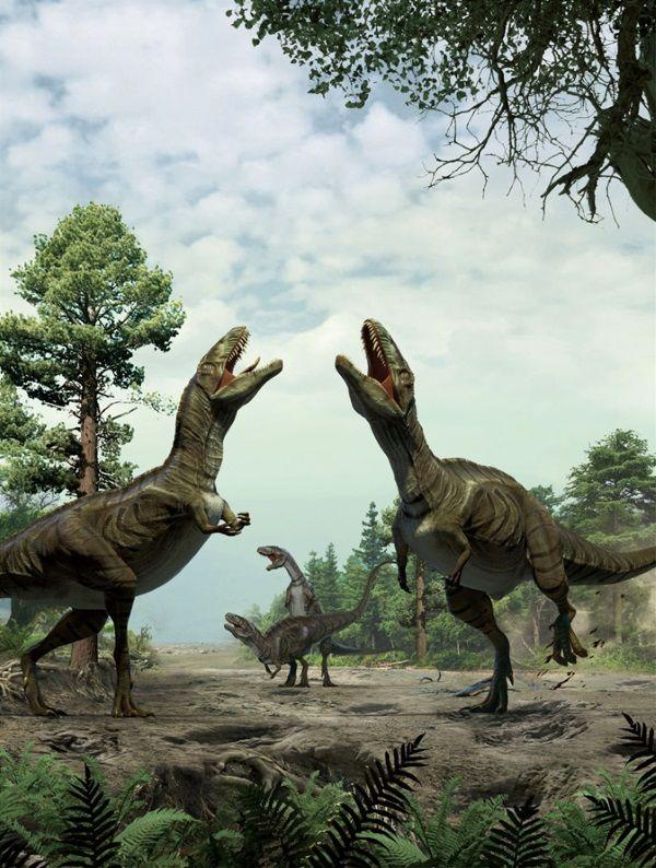 Akrokantozaury budziły postrach na obszarze Ameryki Północnej.