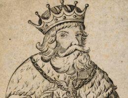 Wyobrażenie księcia Lecha Pierwszego z początku XVIII wieku. Pojawiło się ono niedawno na jednym z wydań Kroniki Prokosza.
