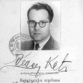 """Cezary Ketling-Szemley odpowiadał za stworzenie w 1943 roku autentycznego gangu mającego na koncie kilka morderstw połączonych z rabunkami. Zdjęcie z książki """"Bandyci z AK""""."""