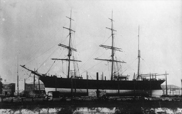"""Jednym ze statków, na których pływał Korzeniowski, był żaglowiec """"Otago""""."""