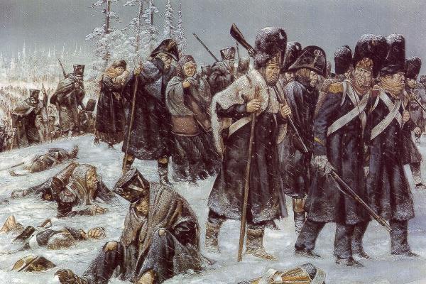 Żołnierze Napoleona byli kompletnie nieprzygotowani na rosyjską zimę.