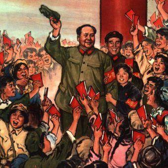 1967 11 1967年 漫画 毛泽东林彪