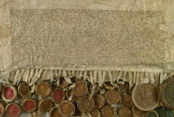Dokument pokoju toruńskiego z 1411 roku