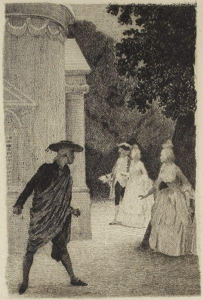Ilustracja z XIX-wiecznego wydania Wesela Figara.