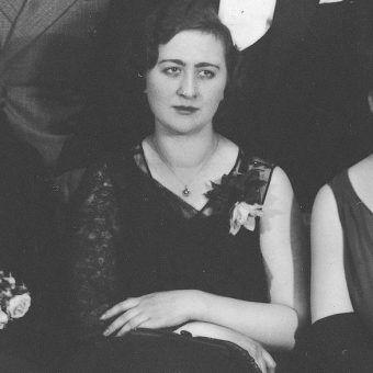 Janina, jeszcze wtedy Dowbor-Muśnicka, na zdjęciu z 1932 roku.