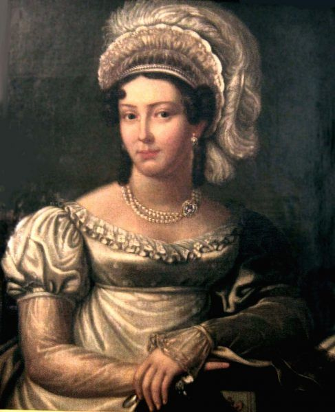 Joanna Grudzińska na anonimowym portrecie (fot. domena publiczna)