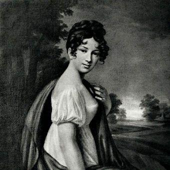 Joanna Grudzińska, ukochana następcy rosyjskiego tronu (fot. domena publiczna)