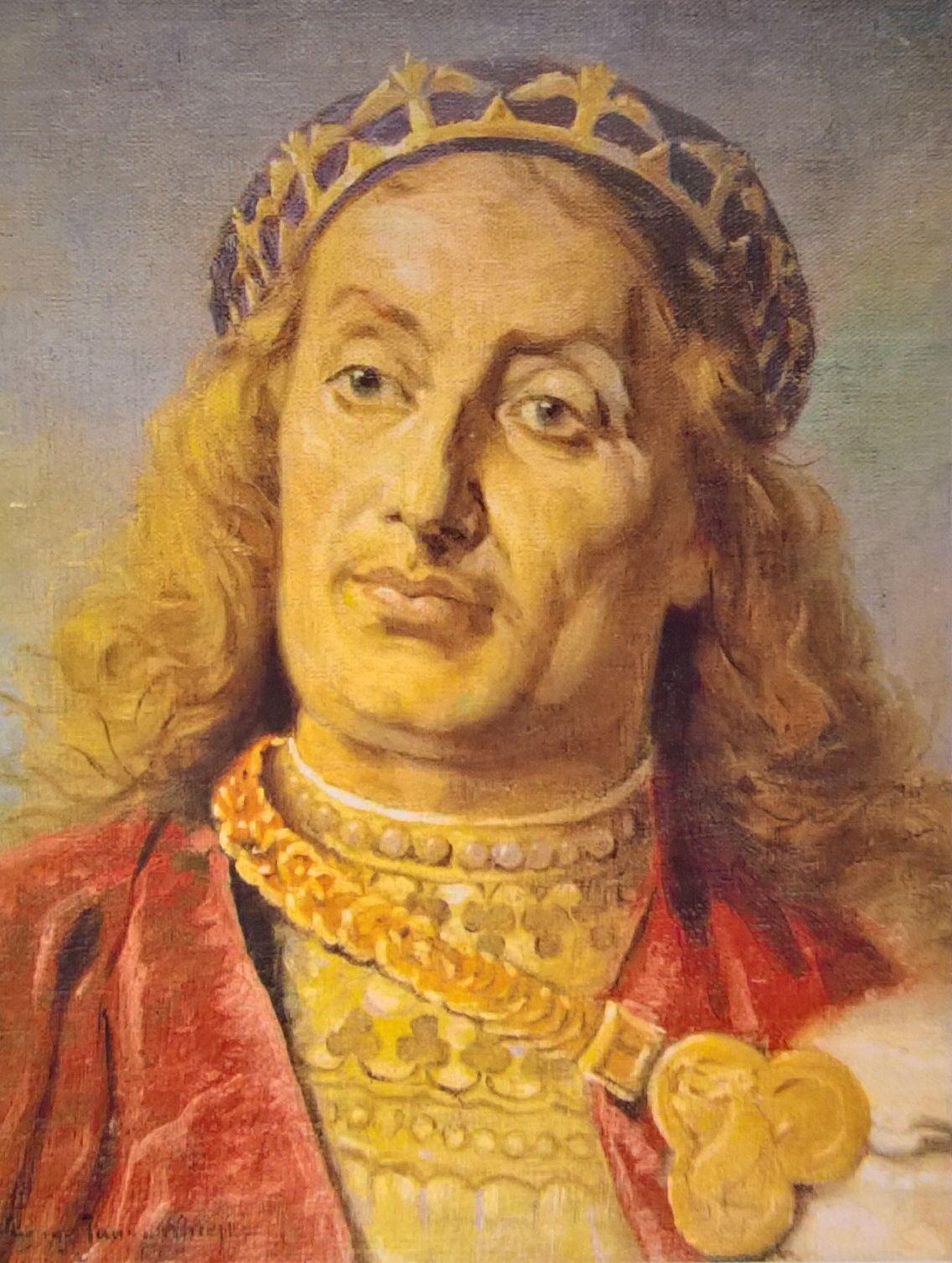 Władysław Laskonogi według Jana Matejki.