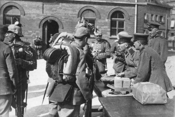 W latach Wielkiej Wojny w niemieckiej armii wcielono około 800 000 Polaków.