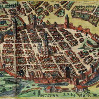 Mury miejskie Poznania (fot. domena publiczna)