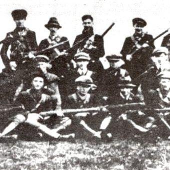 Oddział IRA w 1921 roku (fot. domena publiczna)