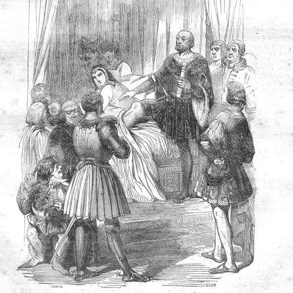 Prawo pierwszej nocy na francuskiej ilustracji z połowy XIX wieku