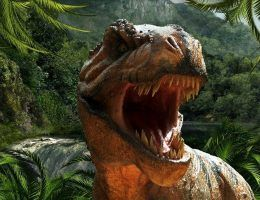T. rex miał tak silną szczękę, że bez problemu kruszył kości innych zwierząt. Tylko czy rzeczywiście sam polował?