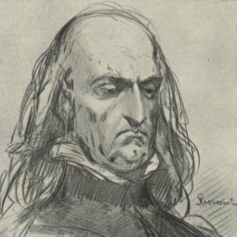 Władysław Jagiełło na nieukończonym szkicu Jana Matejki.
