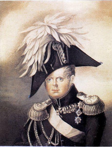 Wielki książę Konstanty w 1819 roku (fot. domena publiczna)