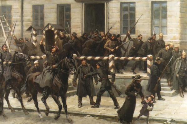 Przejmowanie władzy od Niemców w listopadzie 1918 roku.