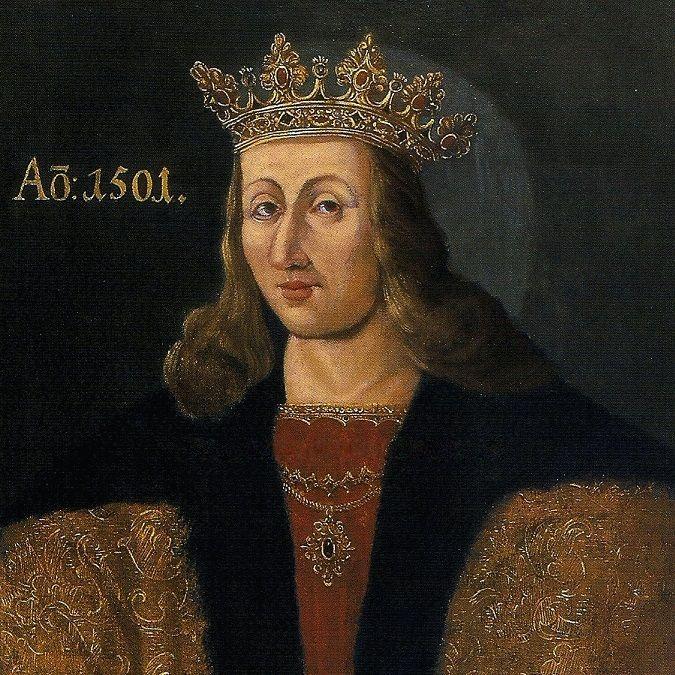 Aleksander Jagiellończyk na portrecie z roku 1645.
