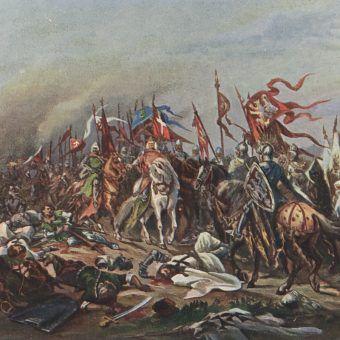 Bitwa pod Płowcami miała bardzo duże znaczenie propagandowe dla zjednoczonej przez Łokietka Polski.
